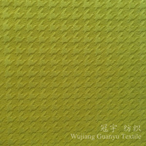 Polyester Sofa Fabric Embossed Velour for Furniture Uses pictures & photos