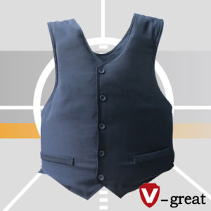 Concealable Style Bulletproof Vest Made of 600d Polyester pictures & photos