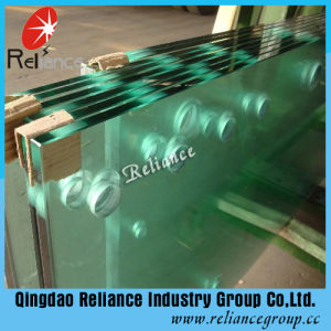 19mm Transparent Safety Glass for Tables/Balcony/Roof pictures & photos