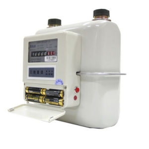 Wireless Transmission Smart Gas Meter with Removable Battery pictures & photos