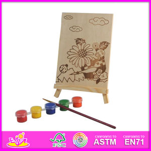 2014 New Play Baby Paint Set, Popular DIY Toy Baby Paint Toy, Hand Painted Wooden Figure Series with Pegment and Pen W03A043 pictures & photos