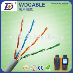 Cat5e UTP CCA Communication Cable
