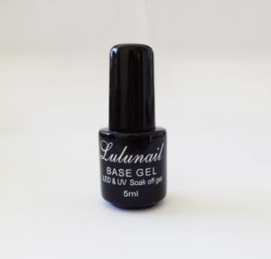 Lulu Nail Base Coat UV Gel Polish for Nail Art