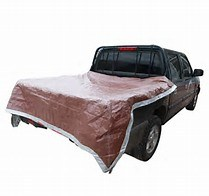 Waterproof Brown Color Car Cover Car Sunshade Poly Tarp pictures & photos