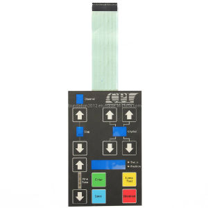 Panel Electric Printed Circuit Keypad Keyboard Membrane Switch pictures & photos
