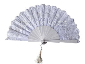 New Lace Wooden Hand Fans