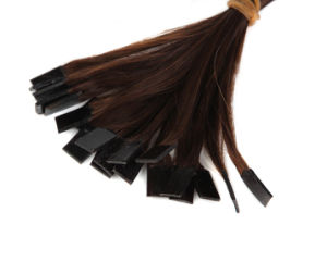 Flat Type Hair Extensions Human Hair pictures & photos