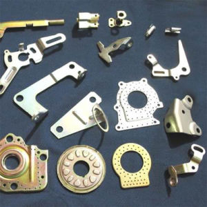 Qingdao OEM Fabricated Zinc Stamped Parts pictures & photos