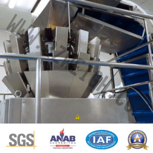 Fish Chicken Seafood High Precision SUS 304 Multihead Weigher