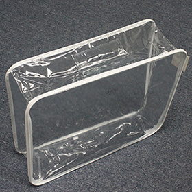 China Clear Pvc Vinyl Bag With Handles Transparent Wire