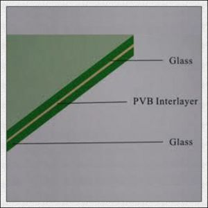 6.38/8.38/12.38mm Clear/Colored Laminated Glass with PVB/Sentryglas Film pictures & photos
