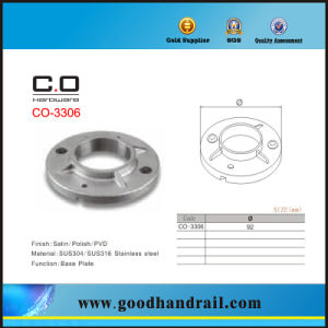Round Pipe Base Plate (CO-3306) pictures & photos