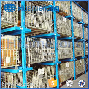 Metal Foldable Steel Wire Mesh Container Used for Storage pictures & photos