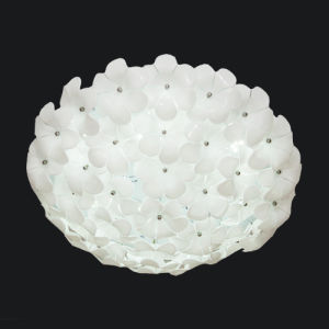 Modern Glass Decorative LED Ceiling Lamp Light for Bedroom or Living Room (C-7222/500) pictures & photos