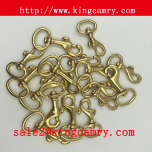 Metal Dog Hook Brass Swivel Eye Hooks Brass Snap Hook pictures & photos