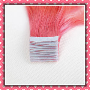 Tape Hair Extensions Skin Weft Silky Straight 14inch pictures & photos