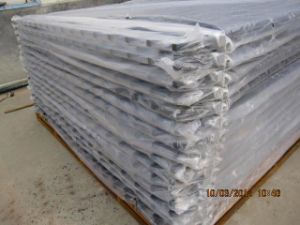 Powder Coated Pregalvanized Spear Top Security Garrison Fencing pictures & photos