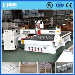 MDF Cutting CNC Machine with Stepper Motors pictures & photos