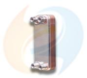 Equal B3-014 Swep B5 Copper Brazed Plate Heat Exchanger Equal Air Compressor Oil Cooler Zl14