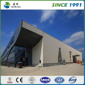 Best Selling Prefabricated Steel Structure Workshop (SW023) pictures & photos