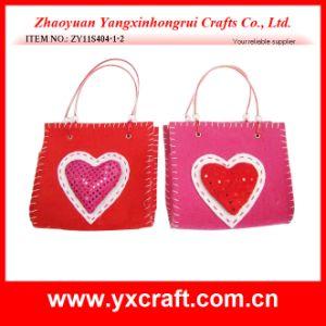 Valentine Decoration (ZY11S401-1-2) Valentine Heart Shape Hanging Bag pictures & photos