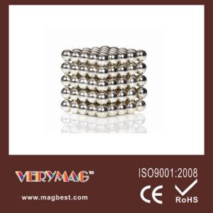 2013 Hot 5mm 216ppcs/Set Silver Color Neodymium Neocube, Magnet Ball, Buckyball (Silver)