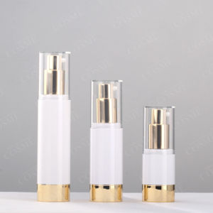 15ml 30ml 50ml Gold Plastic Airless Bottles pictures & photos