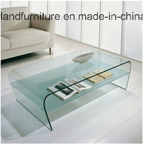 Modern Furniture of Glass Coffee Table Side Table (TB-S166) pictures & photos