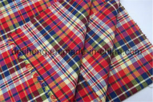 T/C 50/50 Check Style Woven Yarn Dyed Fabric