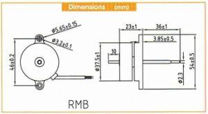 Diameter 38mm DC Brushless Motor 12/24V pictures & photos