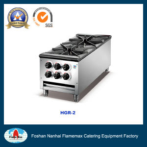 Stainless Steel Heavy Duty Gas Stove (HGR-2) pictures & photos