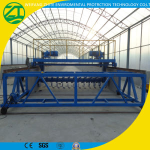 Self-Propelled, Low Energy Consumption of Organic Manure Composting Equipment pictures & photos