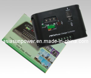 10A PWM Solar Charge Controller for PV System (PETC-K01)