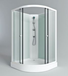 Chinese White Economic Aluminum Shower Cabin for Sale Price pictures & photos