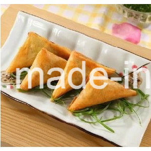 IQF Process 100% Hand Made 12.5g/piece Vegetable Samosas pictures & photos