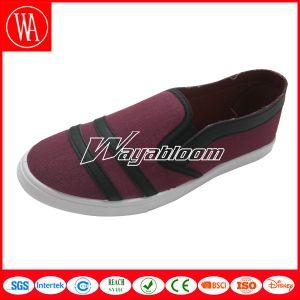 Plain Flat Leisure Women Men Canvas Casual Shoes