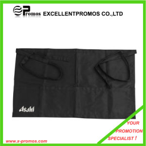 Printed Black Cotton Bar Waist Apron with Custom Logo (EP-A7155) pictures & photos