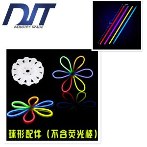 Chemical Liquid Fluorescent Rods Night Run Light Bracelet Light Sticks pictures & photos