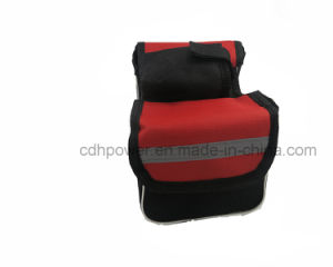 Bicycle Waterproof Pannier Bike Bicycle Front Tube Bag with Cover Phone Holder (Soft) pictures & photos