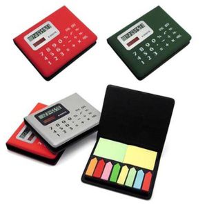 Nc0598 Calculator With 8 Color Adhesive Sticker pictures & photos