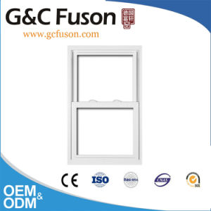 Aluminium Vertical Sliding Window with Imported Sealing Tape pictures & photos