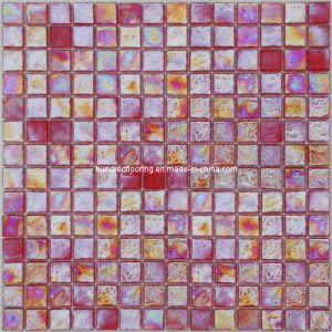 Red Iridescent Mosaic Glass, Mosaic Tile (HGM319) pictures & photos