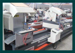 Aluminum Profile Windows Cutting Saw Machine (LJZ-CNC-500X4200) pictures & photos