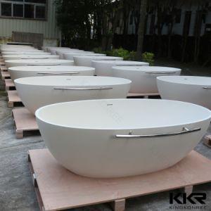Kingkonree Composite Stone Bathtub Stone Freestanding Bath Tub pictures & photos