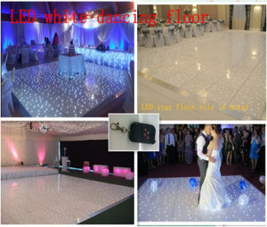 LED White Dance Floor/LED Starlit Twinkling Floor with Wireless Remote Control pictures & photos