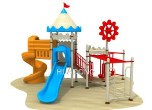 Cheap Colorful Children Commercial Outdoor Playground Equipment (HD-112B) pictures & photos