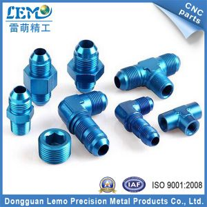 Precision Aluminum CNC Machining Parts with Blue Anodized (LM-0622B) pictures & photos