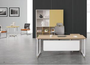 Modern Melamine MDF Executive Office Desk pictures & photos