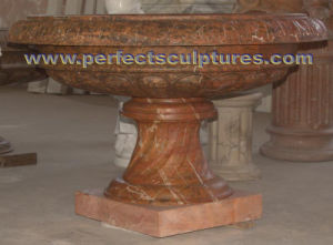 Garden Flower Planter for Stone Marble Carving (QFP340) pictures & photos