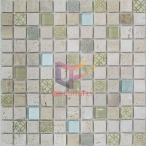 Travertine with Glass Mosaic (CSR072) pictures & photos
